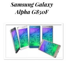 Samsung Galaxy Alpha SM- G850F White Unlocked LIKENEW 32gb 4G Smartphone