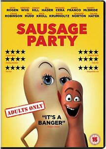 SAUSAGE PARTY - DVD - NEW SEALED**FREE POST