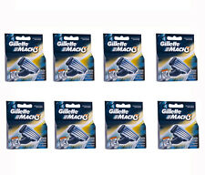 32 Mens Gillette Mach3 Refill Razor Blade Cartridges for Mach 3