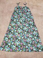 Vtg 80's Sears Hawaiii Dress Women's Size 8
