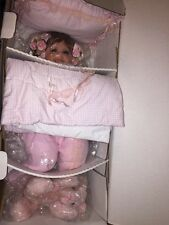 Tickle Me to Sleep Pink Doll by Fayzah Spanos Limited Edition Precious Heirloom