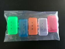 TOOTHBRUSH COVERS CAPS 5 Pack by Pureline Oralcare