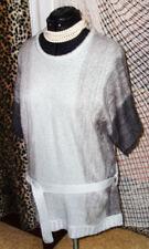 Gestreifte Damen-Pullover & -Strickware aus Acryl in Langgröße