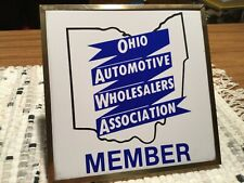 OHIO Automotive Wholesalers  Association Advertising Sign ( Oil/ Gas)