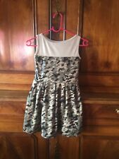 Robe Style Militaire Fille 6 ans Neuf