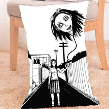 Anime Pillow Case Cover Junji Ito Collections hanging balloon Horror 60x40cm