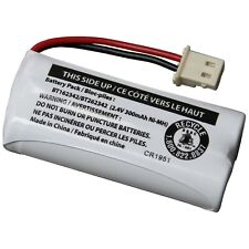 VTech BT162342/BT262342 2.4V 300mAh Ni-MH Battery Pack for Cordless Phone