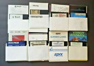 Commodore 64 Games and Software selection
