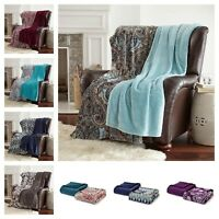 """2 Pack of Oversized Throws 60"""" x 70"""" - Super Soft"""