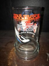 Star Trek III The Search For Spock~2 Drinking Glasses~Taco Bell~1984