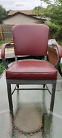 2 Vintage Harter Industrial Retro Office Arm Chairs. Both chairs for that price