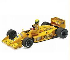 MINICHAMPS 1/18 Model Car F1 Ayrton Senna Lotus 99t GP Italy 1987 Die Cast