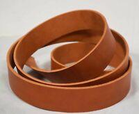Blankleder Lederriemen Ledergurt Riemen 3,5-4,0 mm natur-braun 1-10 cm #don