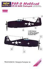 LF Models 1/32 F6F-5 HELLCAT VF-18 U.S.S. INTREPID Camouflage Paint Mask Set