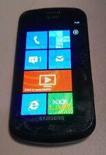 Samsung Focus (SGH-i917) - 8GB - AT&T (UNLOCKED) - WORKS - READ BELOW