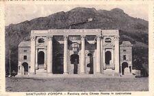 # OROPA - Santuario: FACCIATA DELLA CHIESA NUOVA IN COSTRUZIONE