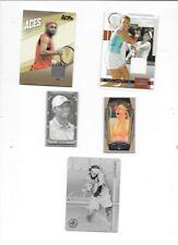 5 TENNIS CARDS 2003-08 ACE AND GOODWIN TIGER SHARAPOVA BLAKE WARBURG DAVENPORT