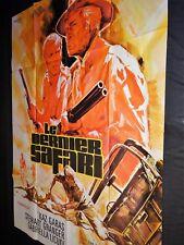 LE DERNIER SAFARI Hathaway  Stewart Granger affiche cinema 1967