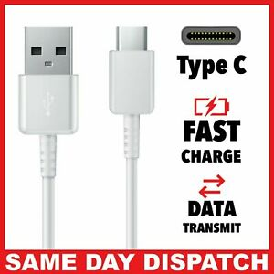 USB TYPE-C To USB A 2.0 Charging Lead Cable 1m long For SAMSUNG A40/A50/A51/A71