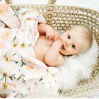 Bamboo Fiber Muslin Blanket Baby Bedding Bath Blankets Swaddle Wrap Receiving