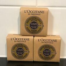 3 x L'Occitane Verbena Soap with Shea Butter 50g