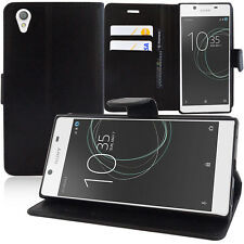 """Etui Housse Coque Portefeuille Support Video Rabat Sony Xperia L1 5.5"""" G3311"""
