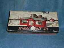 PLASTICVILLE U.S.A.  SCHOOL HOUSE w/BOX
