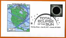 2051-2100. Total Solar Eclipses of the Sun. North America,  FDC