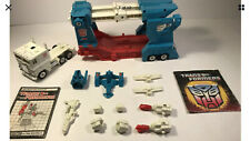 Transformers G1 ULTRA MAGNUS Rubber Tires Nearly Complete VINTAGE 1986 Autobot