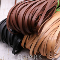 10mm Sewing Thread Flat Cow Real Leather Finding Cord String Lace Rope DIY