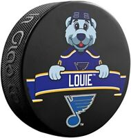 St. Louis Blues NHL Mascot Louie Souvenir Hockey Puck