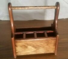 Home Decor-Rustic Wooden Kitchen Desk Organizer - Country Living