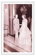 Nostalgia Postcard Bouquet Final Beau Geste Party Claridges Hotel 1938 ReproNS53