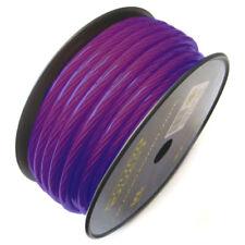 Sound Quest SQVLP4BL Car Audio Power Wire Soundquest Vl 4Ga Cca Matte Blue Color