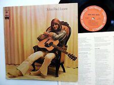 JOHN PAUL JONES self titled MINT MINUS vinyl WITH Insert Columbia 1973 LP
