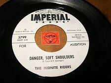 THE MIDNITE RIDERS - DANGER SOFT SHOULDERS - TIGER LILY / LISTEN - ROCK POPCORN