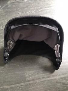 Quinny Buzz Hood Canopy in Black Fits Quinny Xtra