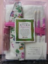 LIMITED Edition Tulip ETIMO Bouquet Lace Cushion Grip 8 Crochet hook gift set