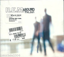 REM. Around The Sun (2004) CD NUOVO Digipack. Leaving New York. Electron Blue.