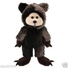 """Skansen Beanie Kid """"Growl The Grizzly Cub Bear"""" Mwmt"""