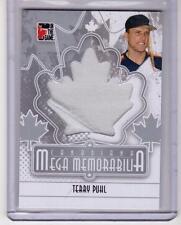 TERRY PUHL 10/11 ITG Canadiana Mega Memorabilia Jersey SL SP M-14 Houston Astros