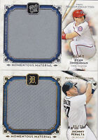 2014 Topps Museum Collection Jhonny Peralta /35 Jersey Momentous Material Jumbo