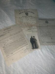 Honorable Discharge Documents -Jeremiah Thomas O'Dwyer-  RRPC Post Card 1911