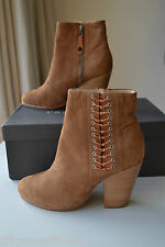 NEW AUTHENTIC RAG AND BONE CAMEL LILIAN BOOTS SIZE 36 / 3     Boxed