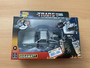 Transformers X Back to the Future 35th Anniversary Gigawatt Numbered #0522/1985
