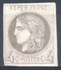 """FRANCE STAMP TIMBRE N° 41 Bb """" CERES BORDEAUX 4c GRIS LILAS """" NEUF x TB  M928"""