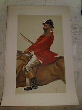 ORIGINAL VANITY FAIR PRINT TOM FOX HUNTING FREE POST