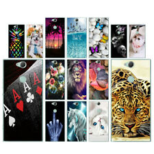 Clear Case For Sony Xperia XA2 Plus Soft TPU Silicone Phone Back Cover Views