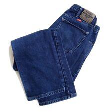 Wrangler 34x32 Regular Fit Blue Jeans