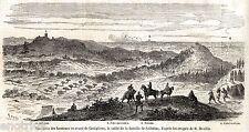 ampo di BATTAGLIA DI SOLFERINO da CASTIGLIONE DELLE STIVIERE. Risorgimento.1859